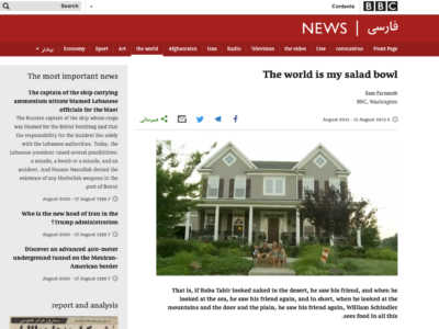 World is my Salad article