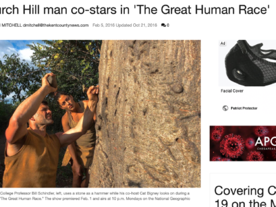 Church Hill Man stars in NatGeo Show