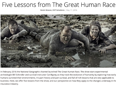 Picture of Five Lessons from The Great Human Race
