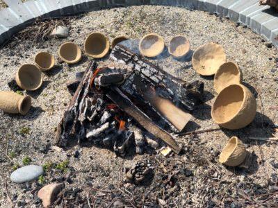 Pot firing