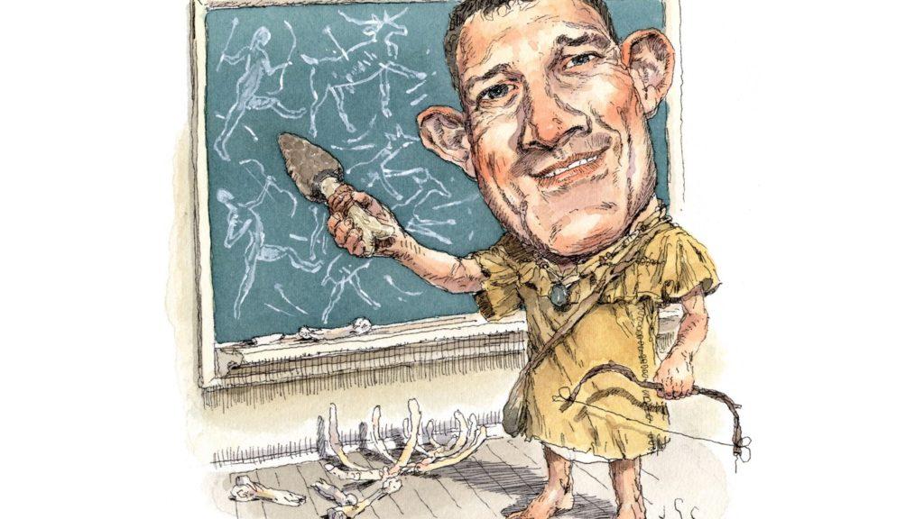 Professor Caveman