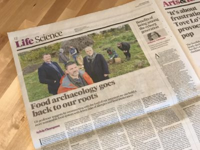 Article in Irish Times