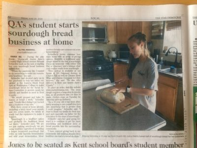 Brianna newspaper article