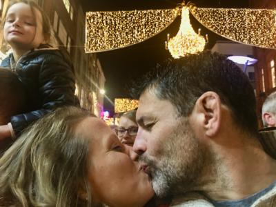 Grafton Lights kiss