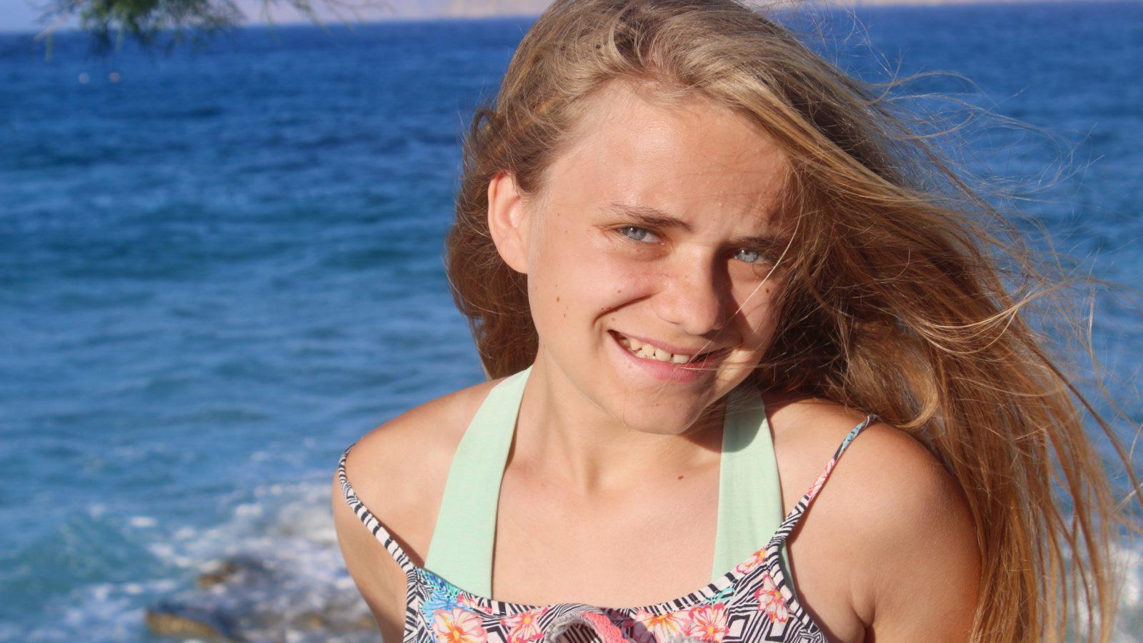 Alyssa in crete