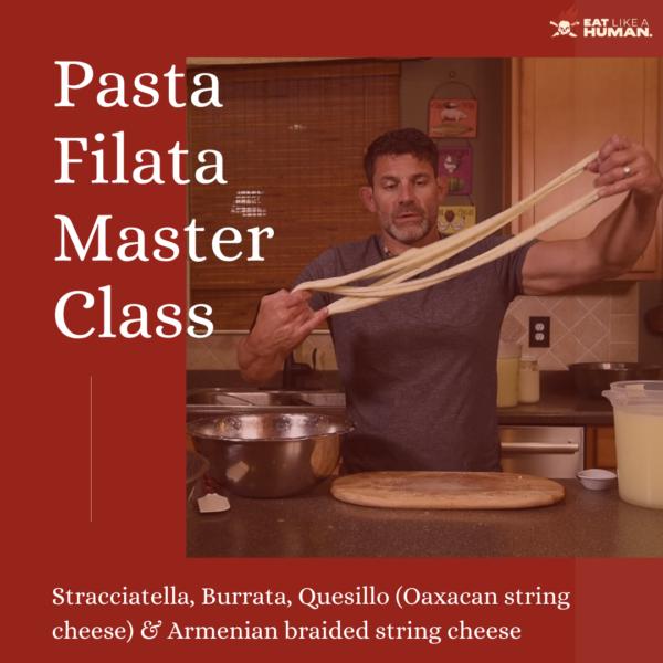 Pasta Filata Master Class Cover