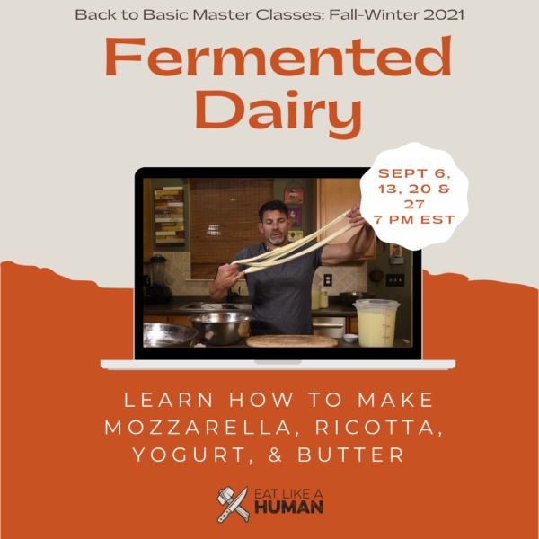 Fermented Dairy Back to Basics Class