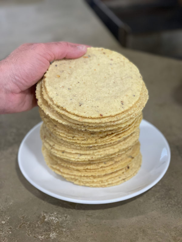 Pile of Rise tortillas