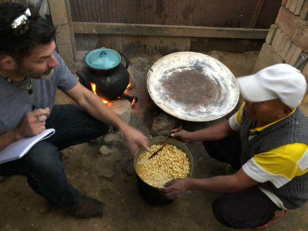 Traditinal Tortillas in Oaxaca